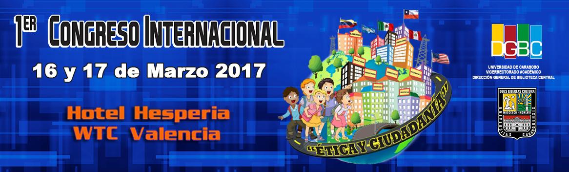 1er Congreso Internacional Etica y Ciudadania