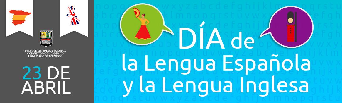 Día de la lengua española y de la lengua Inglesa