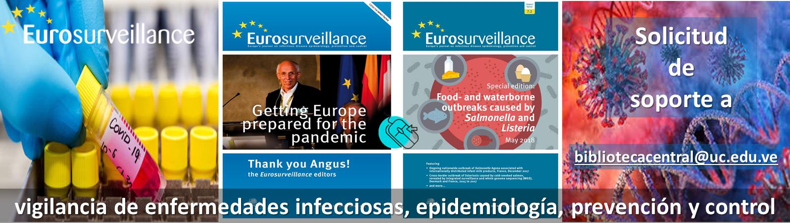 @Eurosurveillanc. Plataforma de acceso abierto: vigilancia, prevención y control de enfermedades transmisibles