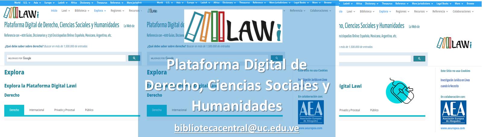 Lawi: Plataforma Digital de Derecho, Ciencias Sociales y Humanidades