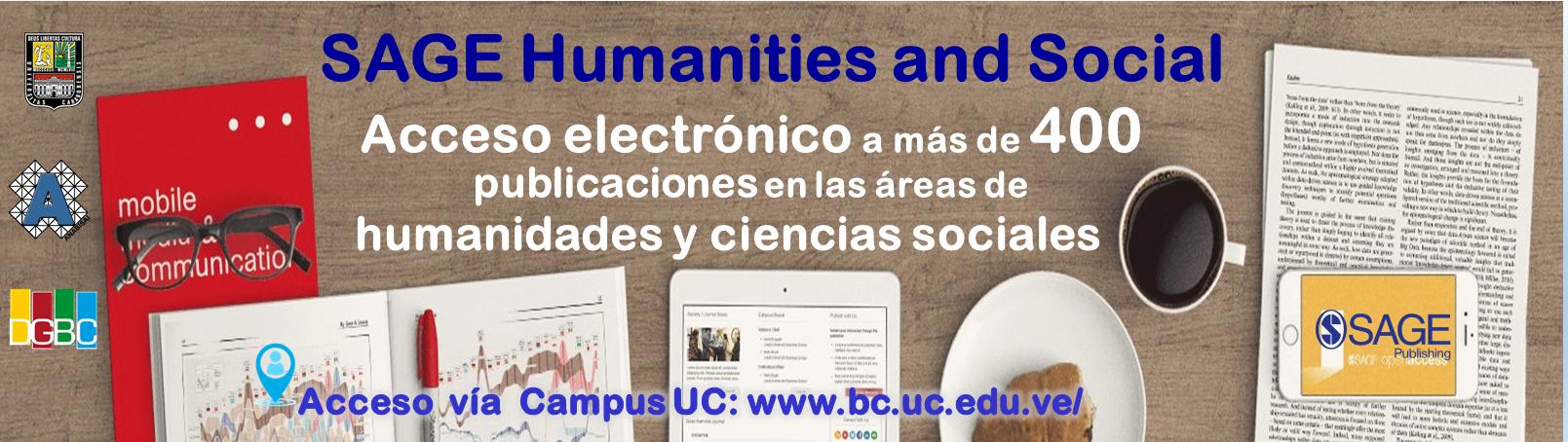 Plataforma SAGE Journals Online (Acceso solo desde el Campus UC)