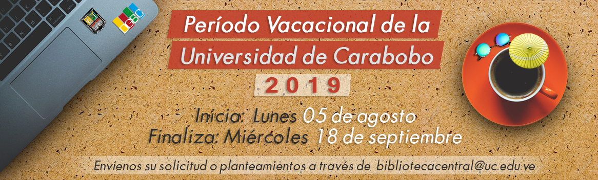 Período Vacacional UC 2019