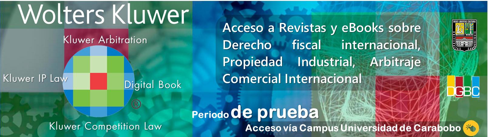 Plataforma Kluwer Law International (Acceso solo desde el Campus UC)
